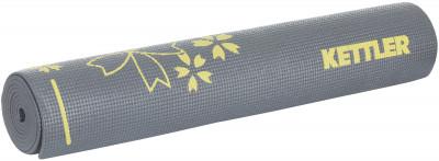 Коврик для йоги KettlerКоврик для йоги. Подходит также для занятия фитнесом, или пилатесом. Нескользящая поверхность обеспечивает надежную фиксацию во время упражнений. Толщина 5 мм.<br>Толщина: 5 мм; Вес, кг: 1,1; Размер (Д х Ш), см: 172 х 61; Вид спорта: Йога, Фитнес; Производитель: Kettler; Артикул производителя: 7373-150; Срок гарантии: 2 года; Страна производства: Китай; Размер RU: Без размера;