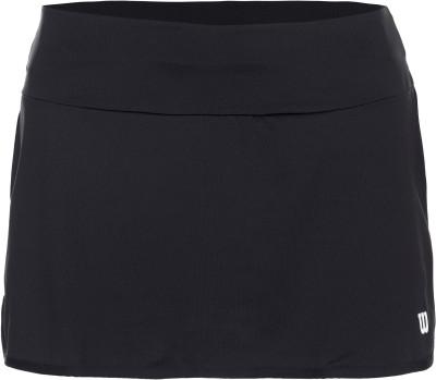 Юбка-шорты женская WilsonTeamТеннисная юбка-шорты от wilson - отличный выбор для матчей и тренировок.<br>Пол: Женский; Возраст: Взрослые; Вид спорта: Теннис; Внутренние шорты: Да; Плоские швы: Да; Светоотражающие элементы: Нет; Материал верха: 92 % полиэстер, 8 % спандекс; Материал подкладки: 100 % полиэстер; Технологии: nanoWIK; Производитель: Wilson; Артикул производителя: WRA766202; Страна производства: Камбоджа; Размер RU: 40-42;
