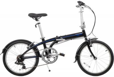 Велосипед складной Tern Link B7Велосипед идеален для передвижения по городу, а при необходимости его легко сложить и взять с собой в общественный транспорт или в личный автомобиль.<br>Материал рамы: Алюминий; Амортизация: Rigid; Конструкция рулевой колонки: Интегрированная; Складная конструкция: Да; Размер в сложенном виде (дл. х шир. х выс), см: 38 x 79 x 72; Конструкция вилки: Жесткая; Количество скоростей: 7; Наименование заднего переключателя: Shimano RD-FT35; Конструкция педалей: Классические; Наименование манеток: Shimano; Конструкция манеток: Вращающиеся ручки; Тип переднего тормоза: Ободной; Тип заднего тормоза: Ободной; Диаметр колеса: 20; Тип обода: Одинарный; Материал обода: Алюминиевый сплав; Наименование покрышек: Kenda, 20 x 1,5; Конструкция руля: Изогнутый; Регулировка седла: Есть; Сезон: 2016; Максимальный вес пользователя: 110 кг; Вид спорта: Велоспорт; Технологии: DoubleTruss, Q-Lock; Производитель: Tern; Артикул производителя: LINK B7-BB; Срок гарантии: 2 года; Вес, кг: 14; Страна производства: Китай; Размер RU: Без размера;
