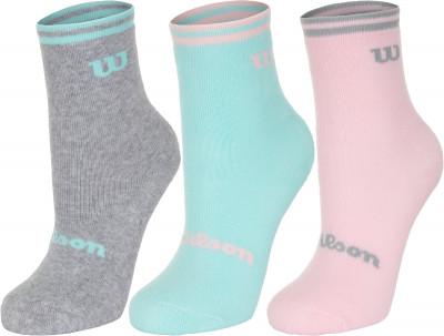 Носки для девочек Wilson,3 пары, размер 23-26 Wilson,3  (W769AXS)