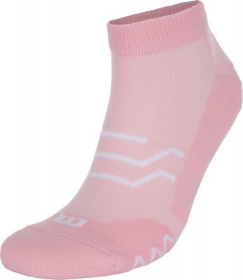 Носки женские Wilson, 1 пара, размер 35-38Женская одежда<br>Спортивные носки от wilson. Плоские швы и дополнительная вентиляция обеспечивают максимальный комфорт при тренировках. В комплекте 1 пара.
