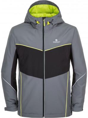 f799f00f880 Куртка утепленная мужская Nordway серый черный цвет - купить за 2499 ...