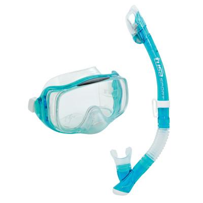 Комплект Tusa Imprex 3-D Dry: маска, трубкаКомплект uc-3325 imprex 3-d dry включает трехлинзовую маску с панорамным обзором и трубку.<br>Материал линзы: Стекло; Клапан: Да; Обтюратор: Силикон; Гофра: Да; Вид спорта: Дайвинг, Подводное плавание; Технологии: HyperDry; Производитель: Tusa; Артикул производителя: UCR3325; Страна производства: Тайвань; Размер RU: Без размера;