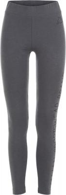 Легинсы женские Kappa, размер 40Брюки <br>Легинсы от kappa станут отличным завершением образа в спортивном стиле. Устойчивость к износу мягкая ткань, выполненная из сочетания полиэстера и хлопка, приятна к телу.