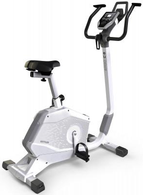 Велоэргометр Kettler ERGO C6С новым велоэргометром от kettler домашние кардиотренировки, направленные на развитие мышц ног и пресса, станут максимально эффективны.<br>Система нагружения: Электромагнитная; Масса маховика: 6; Регулировка нагрузки: Электронная; Нагрузка: 25-250 Вт (шаг 5 Вт); Измерение пульса: Датчики на поручнях; Нагрудный кардиодатчик: Опционально; Питание тренажера: Сеть: 220В; Максимальный вес пользователя: 130 кг; Время тренировки: Есть; Скорость: Есть; Пройденная дистанция: Есть; Уровень нагрузки: Есть; Скорость вращения педалей: Есть; Израсходованные калории: Есть; Пульс: Есть; Контроль за верхним пределом пульса: Есть; Целевые тренировки (CountDown): Есть; Дополнительные функции: фитнес-тест; Общее количество тренировочных программ: 10; Пульсозависимые программы: Есть; Пользовательские программы: Есть; Сиденье: BASIC FOAM; Регулировка руля: Есть; Регулировка сиденья: Вертикальная/Горизонтальная; Подставка для аксессуаров: Держатель для планшета и смартфона; Транспортировочные ролики: Есть; Компенсаторы неровности пола: Есть; Размер в рабочем состоянии (дл. х шир. х выс), см: 119 x 55 x 137; Вес, кг: 39; Вид спорта: Кардиотренировки; Технологии: KETTMAPS; Производитель: Kettler; Артикул производителя: 7689-600; Срок гарантии: 2 года; Страна производства: Германия; Размер RU: Без размера;