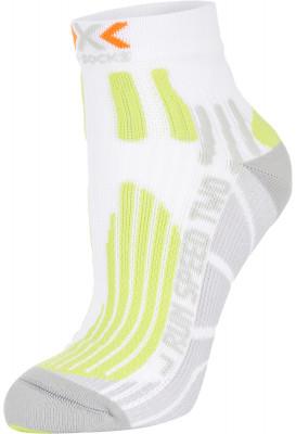 Носки X-Socks, 1 параБлагодаря сочетанию амортизирующих зон и вентиляционных каналов эти носки особенно хороши для бега на средние и дальние дистанции.<br>Пол: Мужской; Возраст: Взрослые; Вид спорта: Бег; Плоские швы: Да; Дополнительная вентиляция: Да; Производитель: X-Socks; Артикул производителя: X020432-W191; Страна производства: Италия; Материалы: 81 % нейлон, 16 % полипропилен, 3 % эластан; Размер RU: 35-38;