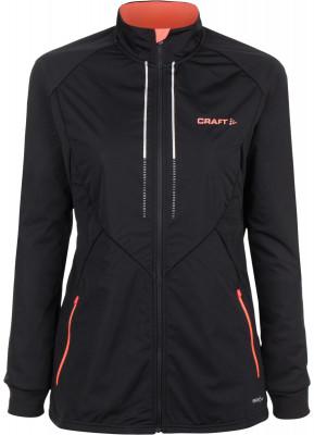 Куртка женская CraftКуртка от craft станет отличным вариантом для занятия беговыми лыжами даже в морозные дни.<br>Пол: Женский; Возраст: Взрослые; Вид спорта: Беговые лыжи; Наличие мембраны: Да; Водонепроницаемость: 8000 мм; Паропроницаемость: 8000 г/м2/24 ч; Защита от ветра: Да; Светоотражающие элементы: Да; Проклеенные швы: Нет; Капюшон: Отсутствует; Количество карманов: 2; Артикулируемые локти: Да; Технологии: VENTAIR Wind; Производитель: Craft; Артикул производителя: 1904257; Страна производства: Китай; Материал верха: 100 % полиэстер; Размер RU: 44-46;