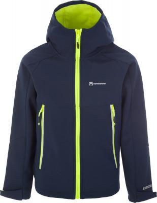 Куртка софт-шелл для мальчиков Outventure, размер 146Куртки <br>Удобная детская куртка софтшелл от outventure пригодится в походах. Водонепроницаемость мембрана add dry с показателем водонепроницаемости 5000 мм защищает от промокания.