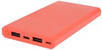 Внешний аккумулятор INTERSTEP 10 000 мАч, microUSB/TypeC