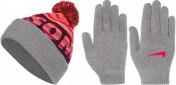 Комплект для девочек: шапка и перчатки Nike