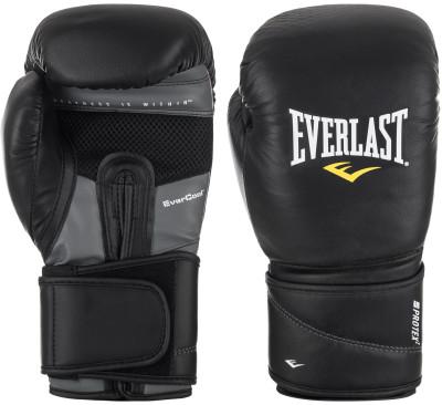 Перчатки боксерские Everlast Protex2 LeatherБоксерские перчатки от everlast помогут защитить руки спортсмена от повреждений во время тренировки и поединков.<br>Тип фиксации: Липучка; Материал верха: Натуральная кожа; Вид спорта: Бокс; Технологии: EverDri; Производитель: Everlast; Артикул производителя: 3214BSMU; Срок гарантии: 30 дней; Страна производства: Китай; Размер RU: 14 oz/S-M;