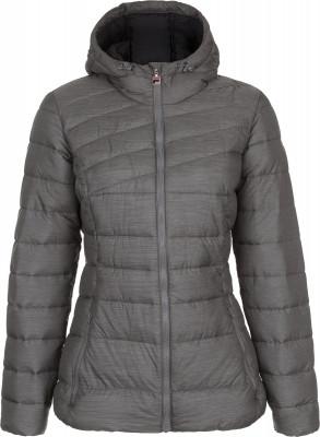 Куртка утепленная женская FilaТеплая женская куртка с капюшоном от fila, выполненная в спортивном стиле. Сохранение тепла синтетический утеплитель хорошо защищает от холода.<br>Пол: Женский; Возраст: Взрослые; Вид спорта: Спортивный стиль; Защита от ветра: Нет; Покрой: Приталенный; Светоотражающие элементы: Нет; Дополнительная вентиляция: Нет; Проклеенные швы: Нет; Длина куртки: Короткая; Наличие карманов: Да; Капюшон: Не отстегивается; Количество карманов: 2; Артикулируемые локти: Нет; Застежка: Молния; Производитель: Fila; Артикул производителя: FLJAW022AM; Страна производства: Китай; Материал верха: 70 % нейлон, 30 % полиэстер; Материал подкладки: 100 % полиэстер; Материал утеплителя: 100 % полиэстер; Размер RU: 46;