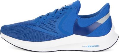Кроссовки мужские Nike Zoom Winflo 6, размер 45Кроссовки <br>Беговые кроссовки nike air zoom winflo 6 дарят максимальную амортизацию и комфорт во время пробежки. Модель рассчитана на нейтральную пронацию стопы.