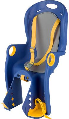 Детское велокресло CyclotechДетское велосипедное кресло для ребенка весом от 9 до 22 кг.<br>Тип фиксации: Трехточечный ремень; Тип крепления: На подседельную трубу; Вид спорта: Велоспорт; Производитель: Cyclotech; Артикул производителя: CKC-2; Страна производства: Тайвань; Размер RU: Без размера;