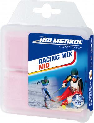 Мазь скольжения твердая для лыж и сноубордов HOLMENKOL Racing Mix MID