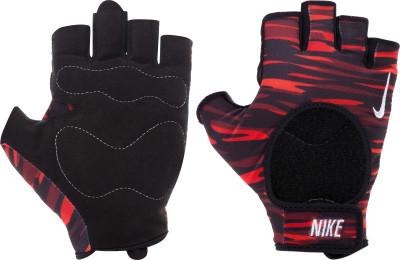 Перчатки для фитнеса женские NikeУдобные перчатки для фитнеса от nike. Эластичный материал обеспечивает плотную надежную посадку, но при этом не сковывает движения.<br>Возраст: Взрослые; Пол: Женский; Размер: 7.5; Производитель: Nike Accessories; Артикул производителя: N.LG.B0.641; Размер RU: 7.5;