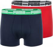 Трусы мужские Puma Brand Boxer, 2 штуки