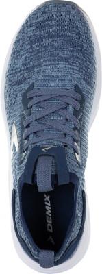 Фото 5 - Кроссовки женские Demix Sprinter Knit, размер 35 синего цвета