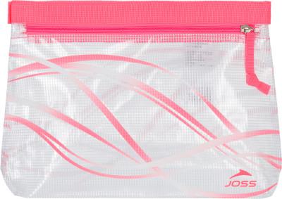 Мешок для мокрых вещей JossУдобная сумка-косметичка joss позволит захватить с собой в бассейн все необходимые вещи.<br>Пол: Мужской; Возраст: Взрослые; Вид спорта: Плавание; Размер (Д х Ш), см: 28,5x19; Производитель: Joss; Артикул производителя: ASR02A750; Страна производства: Китай; Материал верха: 100 % поливинилхлорид; Размер RU: Без размера;