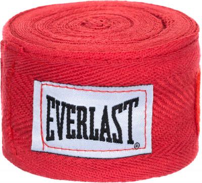 Бинты Everlast 3,5 м, 2 шт.Бинты everlast предназначены для защиты суставов во время работы в боксерских перчатках. Использование бинтов помогает избежать растяжений и вывихов.<br>Длина: 3,5 м; Материалы: 65 % хлопок, 35 % полиэстер; Тип фиксации: Липучка; Вид спорта: Бокс; Производитель: Everlast; Артикул производителя: 4466; Срок гарантии: 15 дней; Размер RU: Без размера;