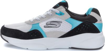 Кроссовки мужские Skechers Meridian-Ostwall, размер 41Кроссовки <br>Винтажные кроссовки meridian от skechers - отличный выбор для образа в спортивном стиле.