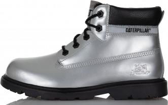 8deb1c935 Ботинки утепленные детские Caterpillar Colorado Plus Fur серебро ...