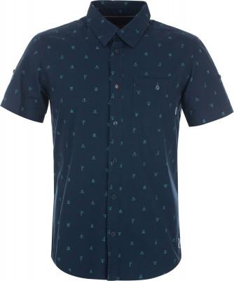 Рубашка мужская Merrell, размер 58Рубашки<br>Рубашка с коротким рукавом от merrell пригодится в путешествиях. Натуральные материалы ткань, выполненная из натурального хлопка, приятна на ощупь.