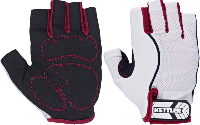 Перчатки для фитнеса женские Kettler BasicПерчатки kettler созданы для защиты рук во время тренировок от натирания и травм при занятиях на силовых тренажерах и со свободными весами.<br>Пол: Женский; Возраст: Взрослые; Вид спорта: Фитнес; Состав: 97 % полиэстер, 3 % хлопок; Производитель: Kettler; Артикул производителя: 7372-130; Срок гарантии: 2 года; Страна производства: Китай; Размер RU: S;