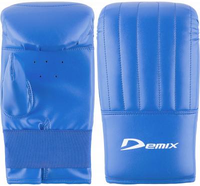 Перчатки снарядные DemixПрочные снарядные перчатки надежно защитят руки от видимых повреждений во время тренировок с мешками и грушами.<br>Тип фиксации: Резинка; Материал верха: Искусственная кожа; Материал наполнителя: Пенополиуретан; Материал подкладки: Полиэстер; Вид спорта: Бокс; Технологии: Memory Foam Demix; Производитель: Demix; Артикул производителя: DCS-204BM; Срок гарантии: 3 месяца; Страна производства: Пакистан; Размер RU: M-L;