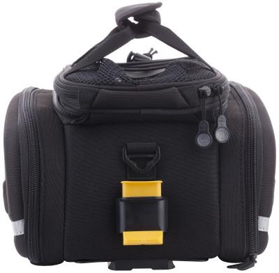 Сумка велосипедная на задний багажник TOPEAKБольшая и технологичная сумка topeak mtx trunkbag dxp объемом 22, 6 литра для велосипедного багажника особенности модели сумка совместима со всеми багажниками mtx quicktrack<br>Объем: 22,6; Размеры (дл х шир х выс), см: 36 x 25 x 21,5-29; Материалы: Полиэстер; Вид спорта: Велоспорт; Производитель: TOPEAK; Артикул производителя: TT9635B; Страна производства: Тайвань; Размер RU: Без размера;