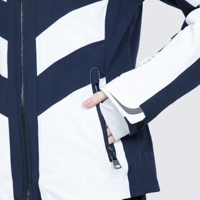 Фото 8 - Куртку женская Luhta Jalonoja, размер 42 белого цвета