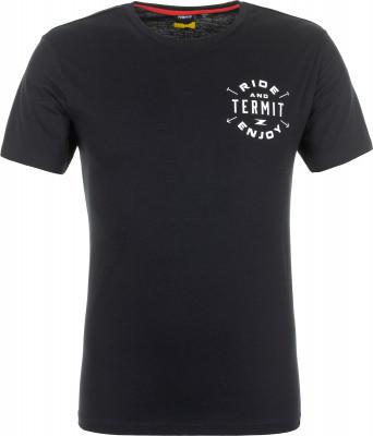 Футболка мужская Termit, размер 44Skate Style<br>Однотонная мужская футболка от termit отлично подойдет для активного отдыха в городе. Свобода движений продуманный крой позволяет двигаться свободно.