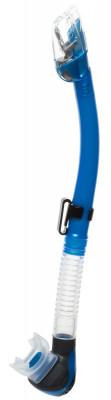 Трубка Tusa Hyperdry EliteТрубки<br>Компактный верхний сухой клапан hyperdry elite не позволяет воде попадать в трубку. Орто-загубник снижает усталость челюстных мышц.