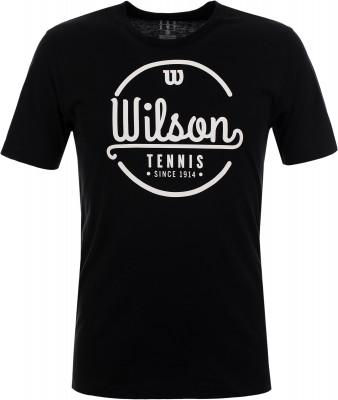 Футболка мужская Wilson Lineage Tech Tee, размер 54-56Футболки<br>Удобная и практичная футболка для занятий теннисом от wilson.