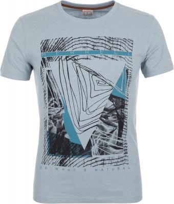Футболка мужская Merrell, размер 52Футболки<br>Удобная футболка merrell с оригинальной графикой на груди - отличный выбор для прогулок и путешествий. Натуральные материалы в составе ткани преобладает натуральный хлопок.