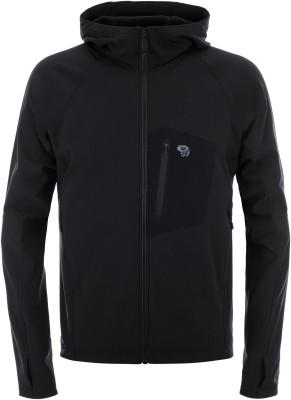Ветровка мужская Mountain Hardwear Keele, размер 52Куртки <br>Ветровка из ткани софтшелл с флисовой подкладкой от mwh. Модель можно носить самостоятельно или использовать в качестве среднего слоя.