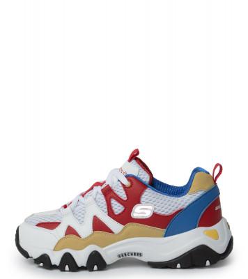 Кроссовки для мальчиков Skechers D'Lites 2.0 Tidal Waves, размер 37,5