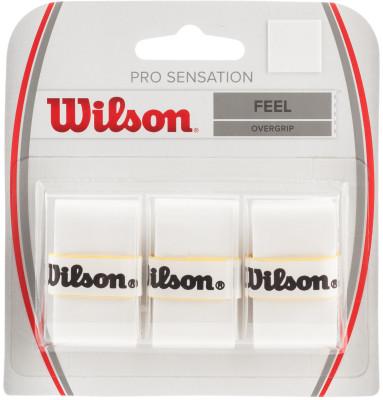 Намотка верхняя Wilson Pro Overgrip SensationWilson pro sensation - это супер тонкая версия обмотки pro overgrip. Обмотка отлично поглощает влагу и не позволяет ракетке скользить в руке.<br>Материалы: Полимерные материалы; Вид спорта: Теннис; Производитель: Wilson; Артикул производителя: WRZ4010WH; Страна производства: Индонезия; Размер RU: Без размера;