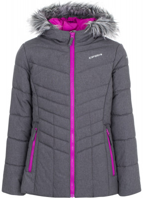 Куртка утепленная для девочек IcePeak RilaКуртка для девочек icepeak rila - удачный выбор для поездок и долгих прогулок.<br>Пол: Женский; Возраст: Дети; Вид спорта: Путешествие; Вес утеплителя на м2: 250 г/м2; Наличие чехла: Нет; Возможность упаковки в карман: Нет; Длина по спинке: 62 см; Водонепроницаемость: 10 000 мм; Паропроницаемость: 5000 г/м2/24 ч; Покрой: Приталенный; Дополнительная вентиляция: Нет; Проклеенные швы: Нет; Капюшон: Не отстегивается; Мех: Отсутствует; Количество карманов: 2; Водонепроницаемые молнии: Нет; Технологии: Children's safety, Icetech 10 000/5 000, Reflectors; Производитель: IcePeak; Артикул производителя: 50124805XV; Страна производства: Китай; Материал верха: 100 % полиэстер; Размер RU: 164;