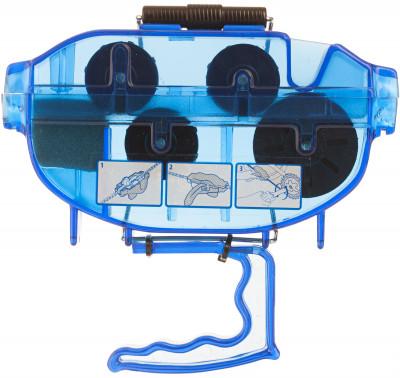 Машинка для чистки цепи CyclotechМашинка для чистки цепи, позволяющая легко и эффективно почистить и смазать цепь велосипеда.<br>Пол: Мужской; Возраст: Взрослые; Вид спорта: Велоспорт; Материалы: Пластик; Размеры (дл х шир х выс), см: 18 х 11 х 3,5; Производитель: Cyclotech; Артикул производителя: CT-CHM.; Срок гарантии: 6 месяцев; Страна производства: Тайвань; Размер RU: Без размера;