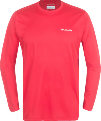 Футболка с длинным рукавом мужская Columbia Tech TrekМужская технологичная футболка с длинным рукавом от columbia - оптимальный выбор для походов.<br>Пол: Мужской; Возраст: Взрослые; Вид спорта: Походы; Длина по спинке: 71 см; Защита от УФ: Нет; Покрой: Прямой; Плоские швы: Нет; Светоотражающие элементы: Нет; Дополнительная вентиляция: Нет; Технологии: Omni-Wick; Производитель: Columbia; Артикул производителя: 1621341613L; Страна производства: Шри-Ланка; Материалы: 100 % полиэстер; Размер RU: 48-50;
