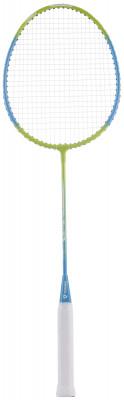 Ракетка для бадминтона Torneo AL-3100Любительская ракетка для бадминтона отличный вариант для игры на природе. Модель подойдет начинающим игрокам. Мощность баланс в голову добавляет ударам мощности.<br>Вес (без струны), грамм: 100; Материал стержня: Сталь; Материал головы: Алюминий; Гибкость: Низкая; Длина: 66,5 см; Баланс: 310 мм; Материалы: Алюминий, сталь; Наличие струны: В комплекте; Наличие чехла: Опционально; Вид спорта: Бадминтон; Производитель: Torneo; Артикул производителя: AL-3100G2; Срок гарантии: 2 года; Страна производства: Китай; Размер RU: Без размера;