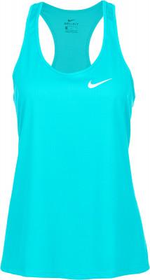 Майка женская Nike Breathe RapidУдобная майка nike breathe rapid дарит прохладу и комфорт во время пробежки. Отведение влаги ткань с технологией nike dri-fit обеспечивает активный влагоотвод.<br>Пол: Женский; Возраст: Взрослые; Вид спорта: Бег; Покрой: Приталенный; Светоотражающие элементы: Есть; Материалы: 100 % полиэстер; Технологии: Nike Dri-FIT; Производитель: Nike; Артикул производителя: 831704-311; Страна производства: Шри-Ланка; Размер RU: 44;