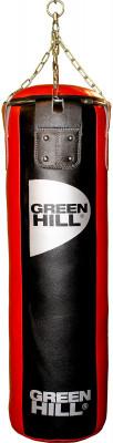 Мешок набивной Green Hill, 47 кгНабивной мешок с подвесной системой. Верх сделан из натуральной кожи. Вес: 47 кг.<br>Вес мешка: 47 кг; Высота мешка: 110 см; Диаметр мешка: 35 см; Материал верха: Натуральная кожа; Материал наполнителя: Резиновая крошка, текстиль; Подвесная система: В комплекте; Тип подвесной системы: Цепь; Вид спорта: Бокс, Карате, ММА, Самбо, Тхэквондо; Производитель: Green Hill; Артикул производителя: PBL 110*35; Срок гарантии: 1 год; Страна производства: Пакистан; Размер RU: 110 см;