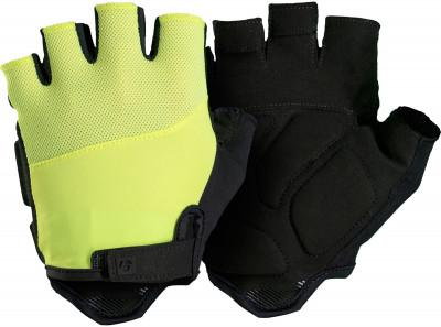 Велоперчатки TrekЗащита<br>Велосипедные перчатки bontrager solstice visibility для летнего сезона от trek. Технология inform biodynamics распределяет давление и снижает утомляемость рук.