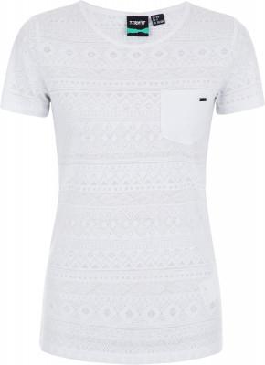 Футболка женская Termit, размер 48Surf Style <br>Яркая удобная футболка termit - отличный выбор для летних приключений. Свобода движений продуманный крой не стесняет движения.