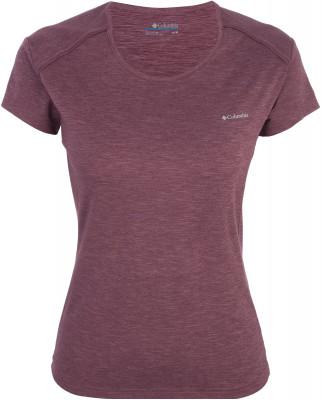 Футболка женская Columbia Firwood Camp Tee, размер 44Футболки<br>Удобная футболка от columbia пригодится в путешествии. Комфортная посадка тянущаяся ткань гарантирует отличную посадку.