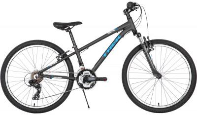 PRECALIBER 24 21SP BOYS (2019), размер 135-160Велосипеды<br>Универсальный горный велосипед для детей trek, который подойдет для поездок по городу и катанию в парке. Модель рассчитана на возраст 8-12 лет и рост 135-160 см.