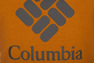 Фото 3 - Свитшот мужской Columbia Lodge, размер 56-58 оранжевого цвета