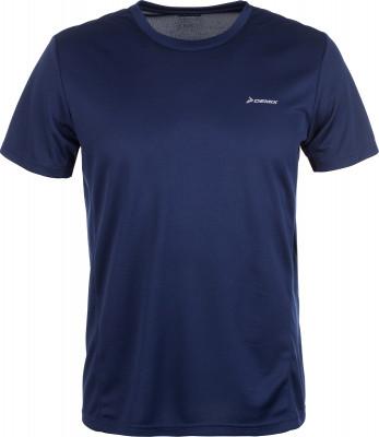 Футболка мужская Demix, размер 54Мужская одежда<br>Практичная футболка для бега от demix. Отведение влаги технология movi-tex обеспечивает влагоотводящие свойства ткани. Свобода движений прямой крой не стесняет движения.